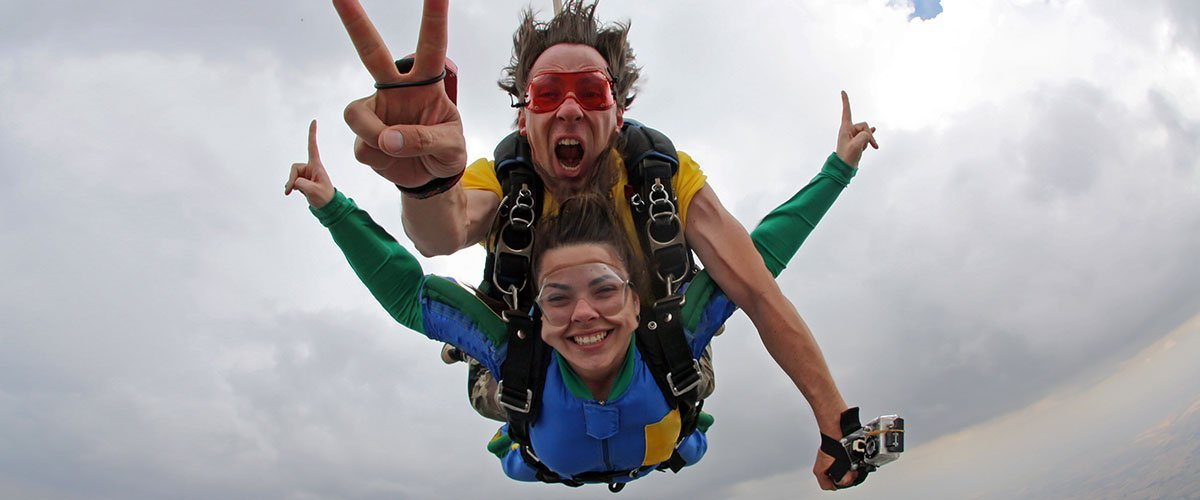 Tandem Skydiving near Lexington, Kentucky